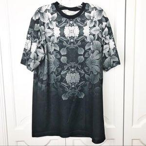 H&M Coachella men's t-shirt jersey floral print